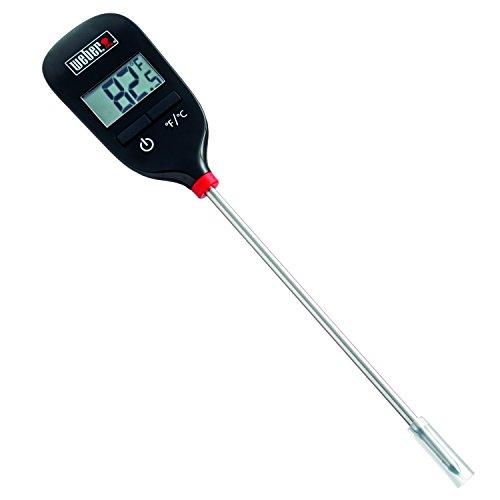 Weber Digital Taschenthermometer, schwarz, 3.2 x 10.8 x 5 cm, 6750