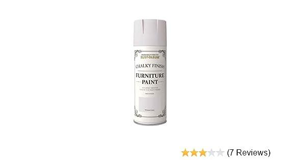 Rust Oleum Chalk Chalky Furniture Spray Paint 400ml Winter Grey Matt 2 Pack