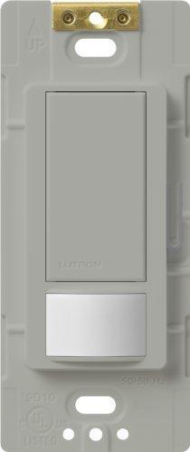 Lutron Lutron MS-VPS2-GR Maestro 250-Watt Single Pole Vacancy Sensor Switch, Gray by Lutron -
