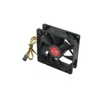 Nilox Case Fan 80mm Computer case - Computer Cooling Components (Computer case, 12.60 dB, Black, Plastic, 90 g, 80 x 80 x 25 mm)
