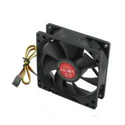 Nilox 03NX0380SB001 - Ventilador de PC, 80 x 80 mm