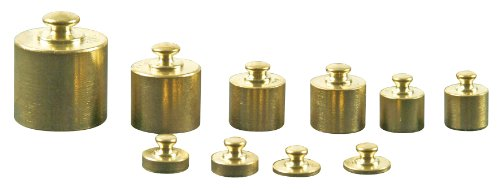 EDUPLAY 120147 Metallgewichte für Waage
