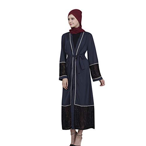DressLksnf Ears Kleider Muslimische Islamische Hot Velvet Drilling Frauen Robe Dresses for Women Islamic Islamic Clothing Dress Muslim Elegant Damen Kimono Langen Vintage Party Kleid ()