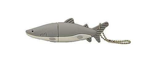 FEBNISCTE 16GB USB-Flash-Laufwerk - Grau Hai