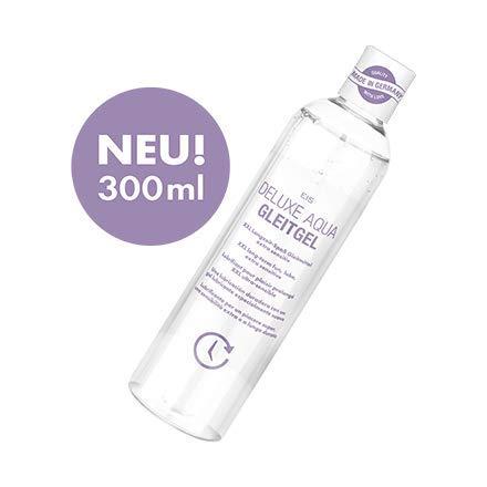 Deluxe Aqua Gleitgel von EIS, wasserbasierte XXL Langzeitwirkung, extra sensitiv, 300 ml