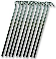 WIRE STEEL PEG (18CM) 10 PACK CS022 By HIGHLANDER