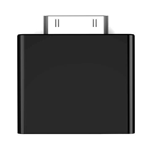 zmigrapddn Universal Mini Wireless Bluetooth V2.1 Stereo Audio Transmitter 30-Pin Musik Receiver Adapter