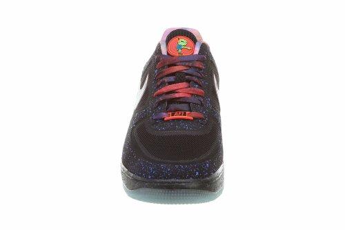 Lunar ForceFuse Prm Qs Mens Sport Entraîneur Chaussures Black / Reflect Silver