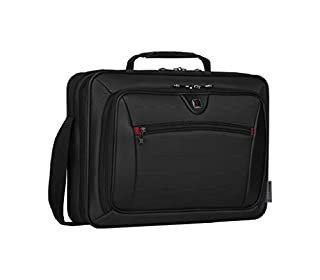 """Wenger 600646 INSIGHT 16"""" Laptop Case , Airport friendly with iPad/Tablet / eReader Pocket in Grey {10 Litres} (B004R8F9HK) 