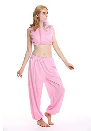 Für Kostüm Erwachsenen Kurtisane - W-0206-M/L Kostüm Damen Frauen Haremsdame Kurtisane Djinn 1001 Nacht Bauchtänzerin Gr. M/L