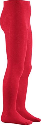 Playshoes Mädchen Uni Strumpfhose, (Rot), ()