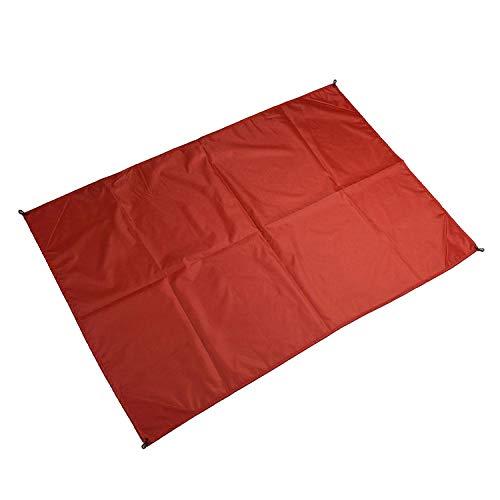 FLDONG 4 Farben Outdoor Sonnenschutz Wasserdicht Camping Matte Ultralight Plane Pergola Nylon Strand Matte Multifunktional Markise Picknickdecke