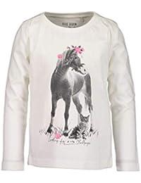 Blue Seven Mädchen Langarmshirt Pferd mit Glitzer