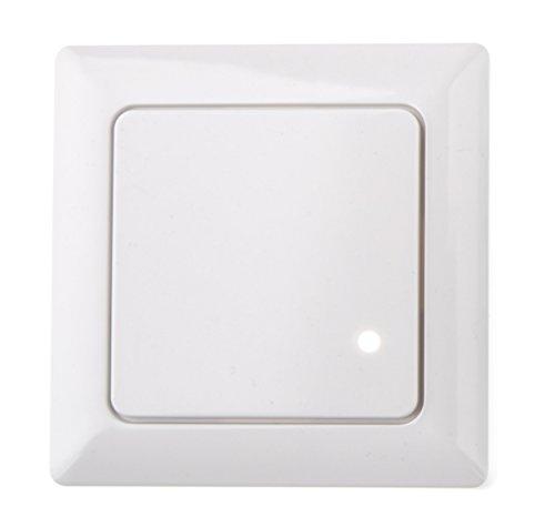 HUBER MOTION 8HF, Radar Bewegungsmelder 180°, weiß, Unterputz für Innenraum- und Wandmontage, hochsensibel durch Hochfrequenztechnik -
