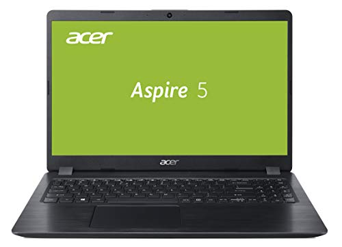 Acer Aspire 5 (A515-52G-53PU) 39, 6 cm (15, 6 Zoll Full-HD IPS matt) Multimedia Laptop (Intel Core i5-8265U, 8 GB RAM, 256 GB SSD, Nvidia GeForce MX150, Win 10) Schwarz