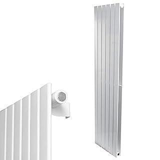 AQUABAD® Badheizkörper Saturn - Typ: Paneel-Style, Weiss, Breite/Höhe 60 160 cm