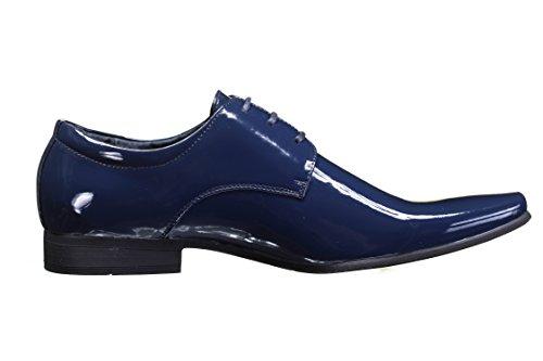 Goor - Chaussure Derbies 6828 1 Marine Bleu