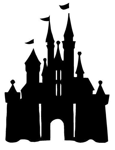 Castle Princess Disney Wall Art Decal Quote Words Lettering Decor Girls 36