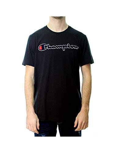 Champion T-Shirt Herren 212946 S19 KK001 NBK Schwarz, Größe:M -