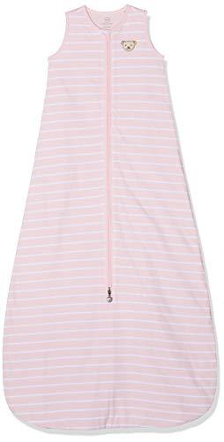 Steiff Baby-Mädchen Decke Schlafsack, Rosa (Barely Pink 2560), 104 (Herstellergröße: 110)