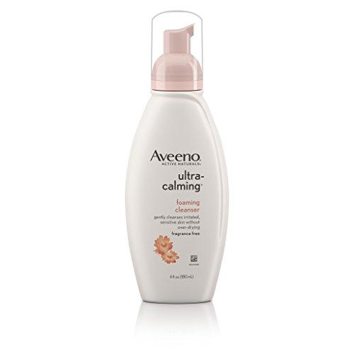 Aveeno Active Naturals Ultra Calming Foaming Cleanser, Fragrance-Free 180ml, Reinigungsschaum fürs Gesicht - aus USA
