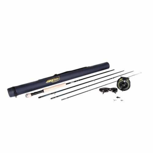 Airflo Kit pour pêche à la mouche Bleu foncé 9