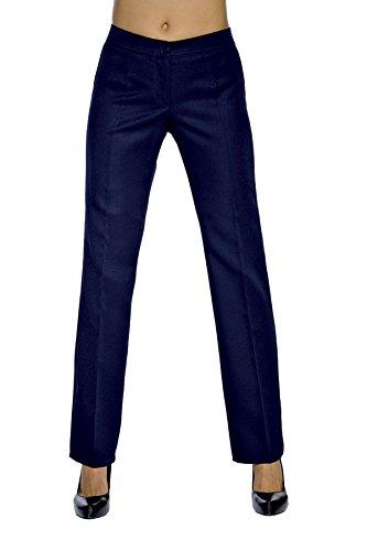 Isacco Pantalone Trendy Blu, Blu, 50, 100% Lana