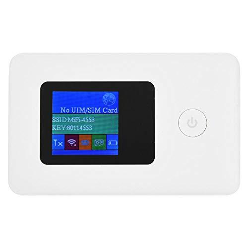Bewinner Tragbar Mobiler WLAN-Hotspot für die Reise, SIM-Karte 4G Modem WiFi Router 2,4 GHz 150 Mbit/s Datenübertragung 4G WiFi Router für Telefon PC Tablet Support Modem-Funktion