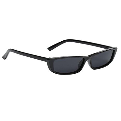 Retro Dame Cat Eyewear Persönlichkeit Katze Auge Sonnenbrille , Hell Schwarz Doppelt Grau
