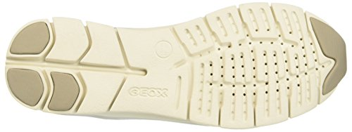 Geox D Sukie A, Sneakers basses femme Gris (LT GREYC1010)