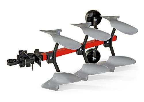 Rolly Toys Anhänger rolly toys | rollyScraper | robuster dreifurchiger Pflug | für Kinder Trettraktoren | 123865