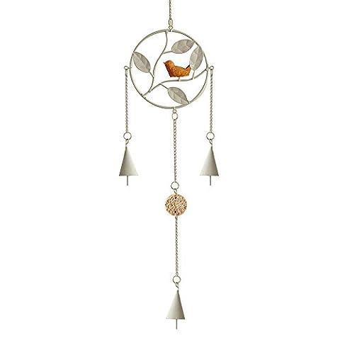 forepin® Petit vent carillon à suspendre Décoration Style Japonais pour Home Maison Jardin Extérieur Intérieur–Triangle