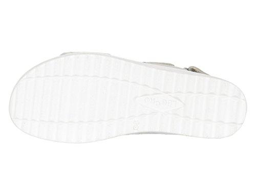 Legero Savona, Bout Ouvert Femme Blanc (blanc cassé)