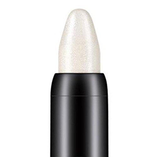 Internet 1PC Crayon fard à paupières de professionnelle de la beauté surligneur (Blanc)