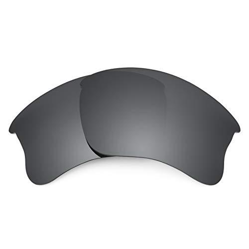 Revant Ersatzlinsen für Oakley Flak Jacket XLJ Schwarz Chrom MirrorShield® Asian Fit