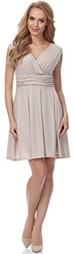 Merry Style Robe pour Femme MSSE0009 Beige