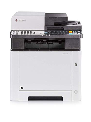 Kyocera Ecosys M5521cdn Farblaser Multifunktionsdrucker. Drucker, Kopierer, Scanner, Faxgerät. Inkl. Mobile-Print-Funktion. Amazon Dash Replenishment-Kompatibel - Drucker-scanner-mac-kompatibel