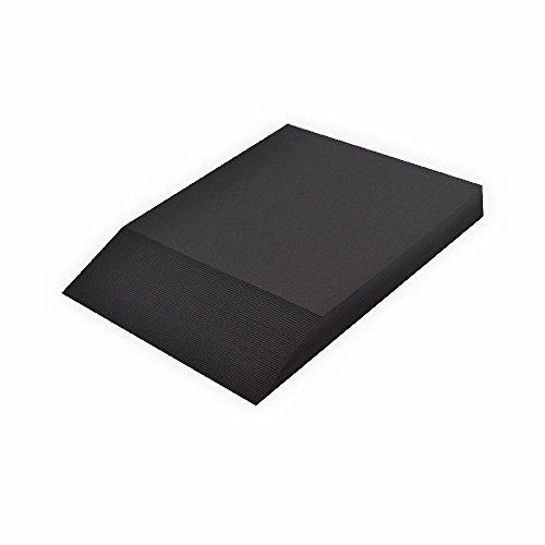 fotokarton schwarz Creleo Fotokarton 300 g, A4 50 Blatt, schwarz