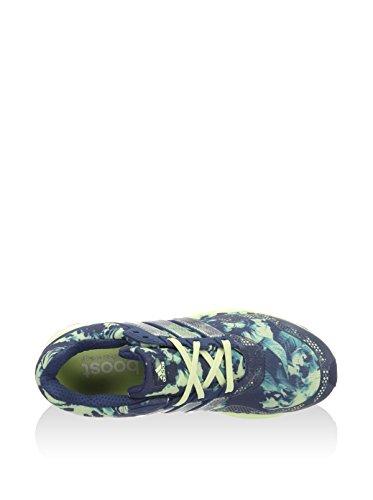 adidas Response 2 Graphic W, Chaussures de Running Entrainement Femme Bleu - Azul (Azumin / Azumin / Halo)