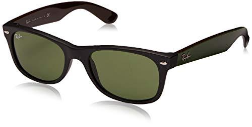 Ray Ban Unisex Sonnenbrille RB2132, Gr. 52mm (Gestell: schwarz,Gläser: grün)