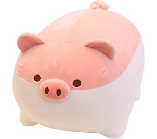 Koojawind PlüSch Stofftier, Anime Piggy Inu, Tier Hund Puppe Weiche Cartoon GefüLlte Kissen Piggy Stofftier, GroßEs Geschenk Vorhanden Geburtstag (Tiere Anime Gefüllte)