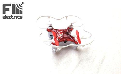 Preisvergleich Produktbild FM165 von FM-electrics | Mini Spy Wlan Drone mit FPV Bild Kamera in HD und riesen Reichweite, Mit Barometer (Höhensensor) , Headless-Mode und One-Key Return und Waypoints, Looping-Funktion, mit Wlan Kamera in HD (rot)