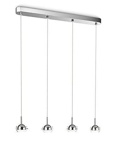 Philips CYPRESS Suspension LED design luminaire d'intérieur Métallique (Illuminazione Decorativa A Sospensione Illuminazione)