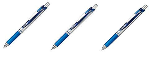 [3piezas.] bolígrafo tinta gel Pentel EnerGel golpe