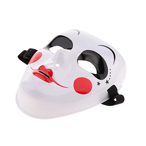 Baoblaze Weiß Hip Hop Tanzmaske Jabbawockeez Maske, Karneval Fasching Halloween Accessoires