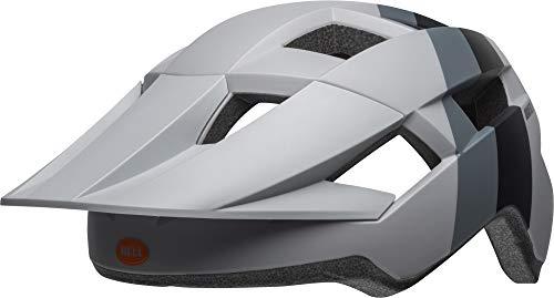 Bell Unisex Jugend Spark Fahrradhelm, downdraft mat Grey/organge, Unisize