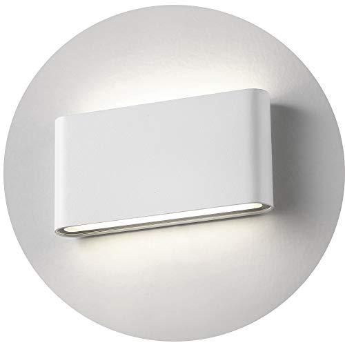 Topmo-plus 12w lámpara de pared LED impermeable IP65 moderno apliques aluminio apliques llevó exterior...