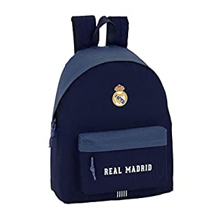 31UzaisnKtL. SS324  - Real Madrid CF- Real Madrid Mochila, Color Azul (SAFTA 641901774)