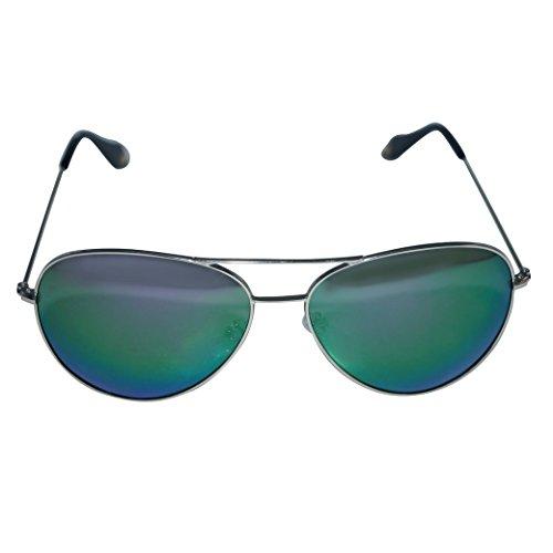 TANGDA Unisex Shiny Wayfarer Stil Polarisierte Magnesium-Aluminium Rahmen Sonnenbrille UV400...