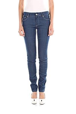GFP082BLEU Prada Jeans Women Cotton Blue